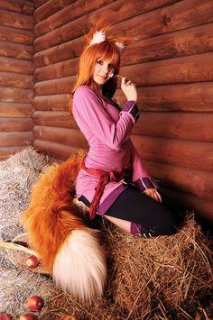 Wolf and Space, cosplay by ~ElenaGrigorenko on deviantART
