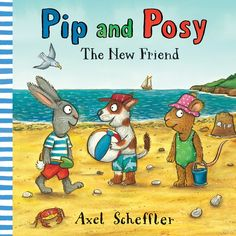 Pip and Posy are having a lovely day at the beach, collecting shells and digging in the sand. But when Posy takes a nap, Pip makes a new friend named Zac. Zac is very cool: he has lots of fun toys and he's really good at handstands. When Posy wakes up, she finds that Pip is more interested in playing with Zac than with her. A funny and dramatic story about discovering that two's company and three's a . . . PARTY! 9780763693398 / 2-5 yrs
