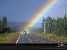 Highway rainbow...