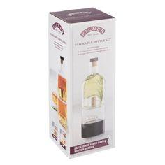 Sada kompatibilných pohárov na olej a ocot Kilner Taste Kilner Bottles, Old Glass Bottles, Small Bottles, Bottles And Jars, Olive Oil And Vinegar, Bottle Top, Space Saving Storage, Cork Stoppers, Whisky