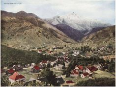 Pikes Peak and Manitou Springs Colorado ~ 1917