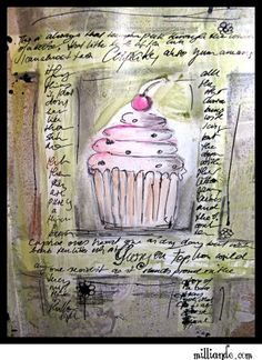 #cupcake  I like to formation of the cupcake