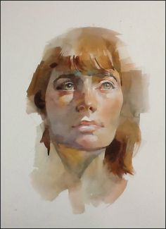 "The Watercolour Log: More Portraits in Watercolour ""The wonderful Stan Miller"""