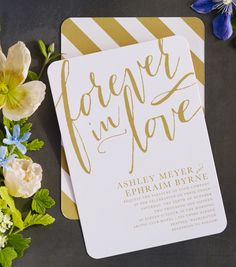 Send A Wedding Invitation As Unique Your Love Beautiful Typography And Clic