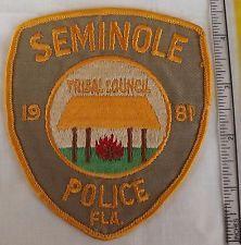 Seminole Police - Florida - Shoulder Patch