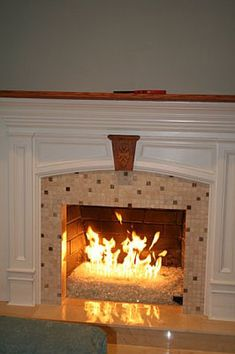 Fireplace Glass | Fire Place Glass | Fire pit | gas fireplace ...