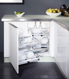 Häfele Corner Cabinet Storage Placard D Angle Blind Kitchen Solutions