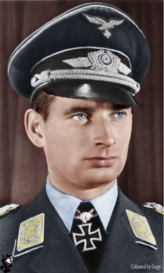 "Hans-Joachim ""Hajo"" Herrmann Herrmann was one of the Luftwaffe's most innovative air tacticians during World War II he was the creator of the Luftwaffe night fighter wing designated Jagdgeschwader 300, nicknamed Wilde Sau (German: wild boar). http://en.wikipedia.org/wiki/Hajo_Herrmann"