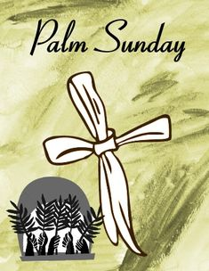 Wishing you a blessed #PalmSunday with this palm leaf #ecard.