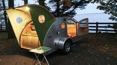 Kleinstwohnwagen Teardrop: Ein Caravan für Minimalisten