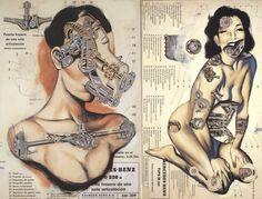 Fernando Vicente Anatomical Illustrations