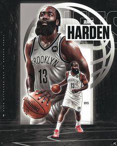 Brooklyn's Finest, James Harden, Brooklyn Nets, Nba Players, Iphone Wallpapers, Concept Art, Basketball, American Football, Conceptual Art