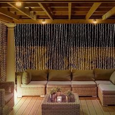 Shop 304 LED Wall Lights Curtain String lights Outdoor String Light - On Sale - Overstock - 17971936 Wall Design, Cool Curtains, Led Wall Lights, Outdoor Lighting, Curtain Lights, Outdoor Wall Decor, Home, Garden Wall Decor, Home Decor