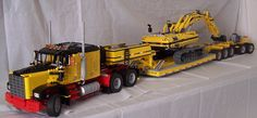 LEGO technic - American truck with lowloader