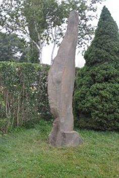 Sculptural Stone #Monolith at #Southampton #Mecox #interiordesign #MecoxGardens #furniture #shopping #home #decor #design #room #designidea #vintage #antiques #garden #Hamptons