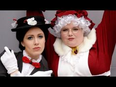 MRS CLAUS vs MARY POPPINS