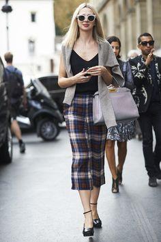 Street Chic: Paris I elle.com