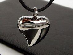Heart Cremation Urn Necklace Cremation Jewelry Pet Urn Memorial Keepsake Ash Holder Pendant Includes Funnel