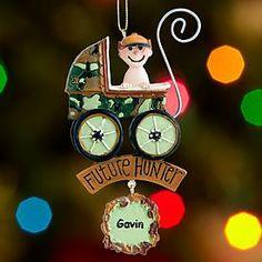 Future Hunter Ornament   Personal Creations