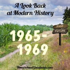 A Look Back at Modern History Unit 1: 1965-1969. Which happened first: legislation that raised the minimum wage to $1.60 was signed or the New York Mets won the World Series?  A Look Back at Modern History Unit 1 challenges your student's knowledge of the sequence of events from 1965-1969. Fifty events are given that must be placed in chronological order, and twenty bonus events must be matched to their correct year.