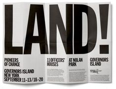 Late last year I had to pleasure of interviewing Danny, Marieke and Erwin of Experimental Jetset. Founded in 1997 and based in Amsterdam, Experimental Jetset is one of the most exciting and highly … Leaflet Layout, Leaflet Design, Brochure Layout, Corporate Brochure, Corporate Design, Brochure Template, Editorial Design Layouts, Graphic Design Studios, Graphic Design Typography