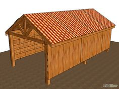 How to Build a Pole Barn #home #DIY #barn #build