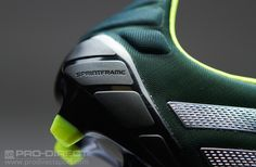 adidas Football Boots - adidas Nitrocharge 1.0 TRX FG - Firm Ground - Soccer Cleats - Forest-Metallic Silver-Electricity