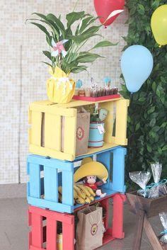 Decoração de festa junina: ideias e inspirações incríveis! Mickey Party, Mickey Minnie Mouse, Birthday Decorations, Birthday Party Themes, Sonic Party, Farm Animal Party, Ballerina Party, Indian Party, The Good Dinosaur