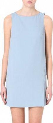 Warehouse Cocoon shift dress Blue £55 #Spring #Essentials #Fashion #pastel #dress