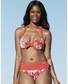 99ff909b08de6 ro939 redfloral l.jpg (774×949) Plus Size Bikini