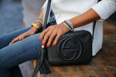 My wardrobe staple @gucci Soho bag via @Saks Fifth Avenue