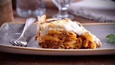 Pastel de macarrones y carne (Pastitsio) - Receta - Canal Cocina