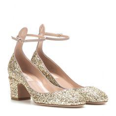 Blockheel-Pumps Tango Aus Glitter ◊ Valentino ► mytheresa.com