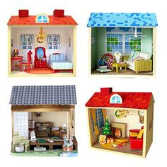 24 best paper craft ideas images in 2018 paper toys - Bbs dollhouse ...