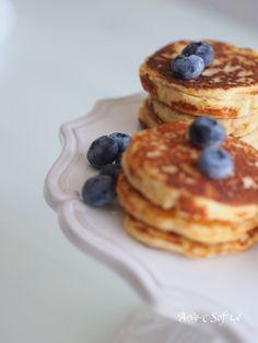 Protein rich pancakes / Avec Sofie