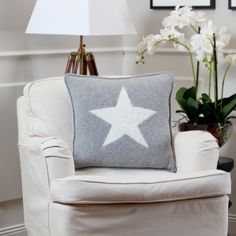 Gant Home - star pillow