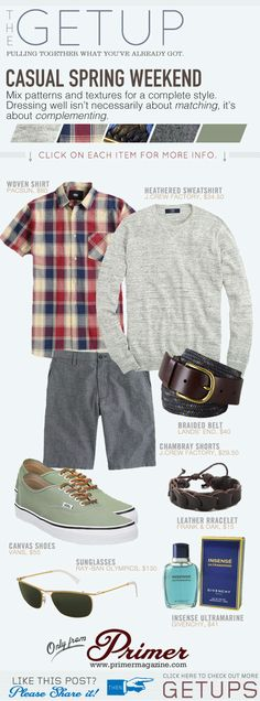 The Getup: Casual Spring Weekend - Primer