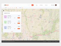 Map UI by James Alonso