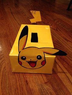 Pikachu Valentine's Day box