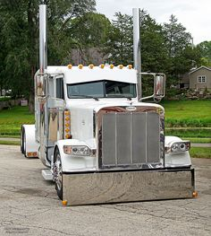 Semi Trucks, beautiful custom Peterbilt