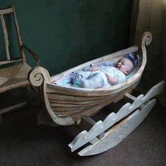 For sons and daughters of Scandinavians. Needs to be deeper to use as a true baby bed.