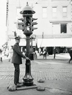 On August 5th, 1914, the first electric traffic light was installed in Cleveland, Ohio