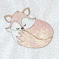 Mylar Little Foxes
