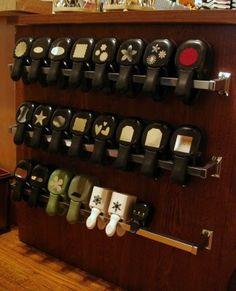 York-Ogunquit Storage Solutions found some ideas!  Gotta Have Paper!: New Hobby Room Detailed Storage Ideas