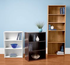 Organize your collection on book shelves from Shopko.com