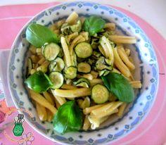 Casarecce con zucchine alla Nerano