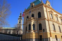 Embassy of Austria in Belgrade, Serbia.