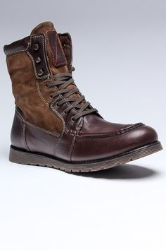 Boots - Chocolate Titan men's footwear