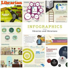 An updated list of best library infographics, showing that libraries in digital times are needed more than ever.