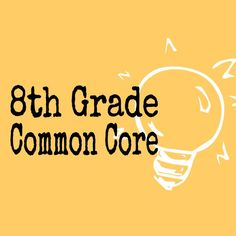 Looking for 8th grade Common Core resources?  We're on the hunt and we'll be sharing them all with you!  Come follow us.